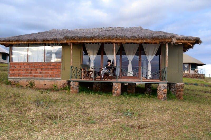 Karatu Simba Lodge hotels in Karatu Tanzania