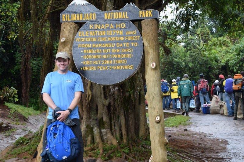 Mount Kilimanjaro Mt. Kilimanjaro Climb for Sight Vision for the Poor charity climb Kili