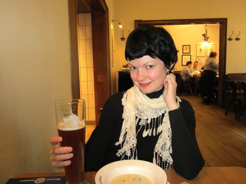 Schneider Weisse Weisses Bräuhaus beer hall Munich Germany beer in Bavaria