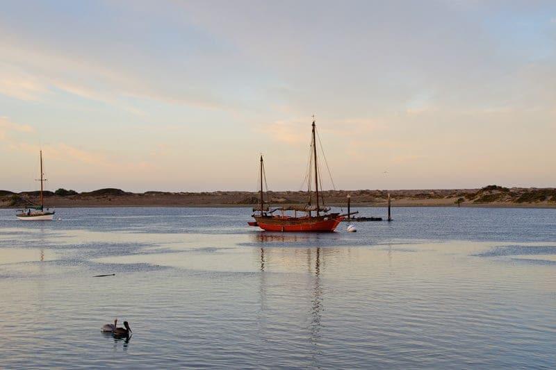 Morro-Bay-harbor-boat
