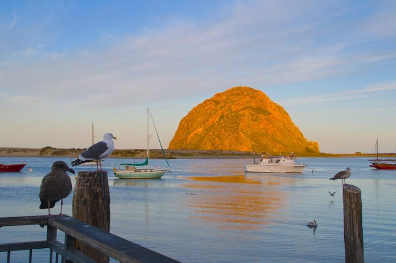 Morro Bay California Pacific Coast Highway 1 road trip