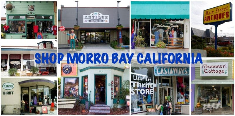 Shop Morro Bay California Collage