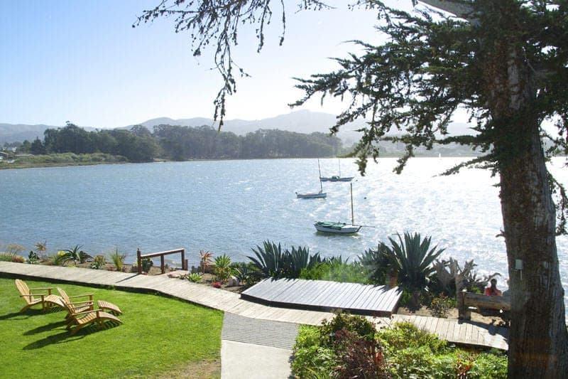 View from Back Bay Inn Baywood Park Los Osos California