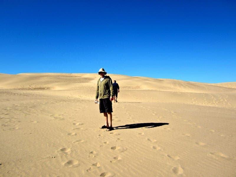 sandspit in Morro Bay California
