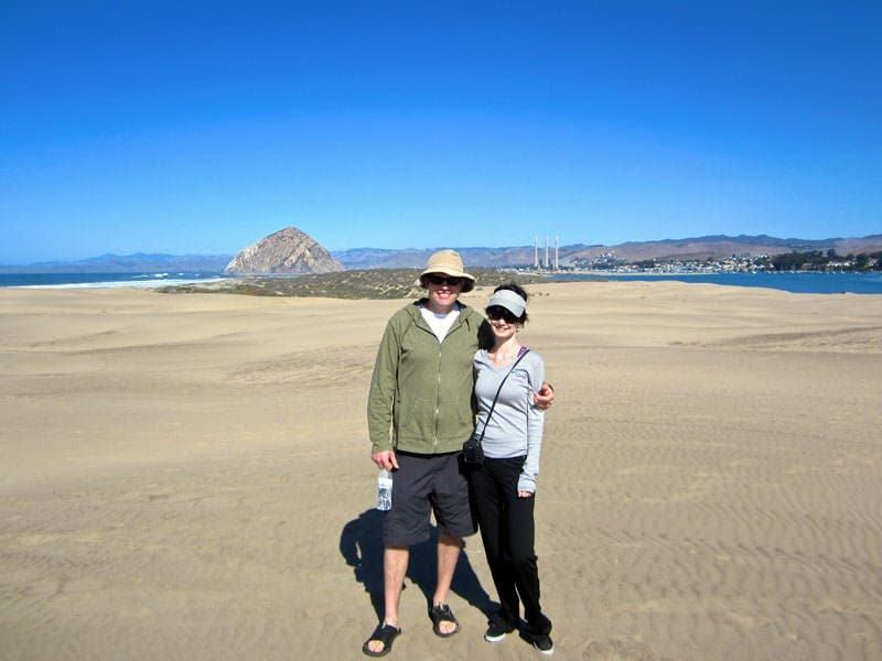 Morro Bay Central Coast Outdoor kayaking sand dunes
