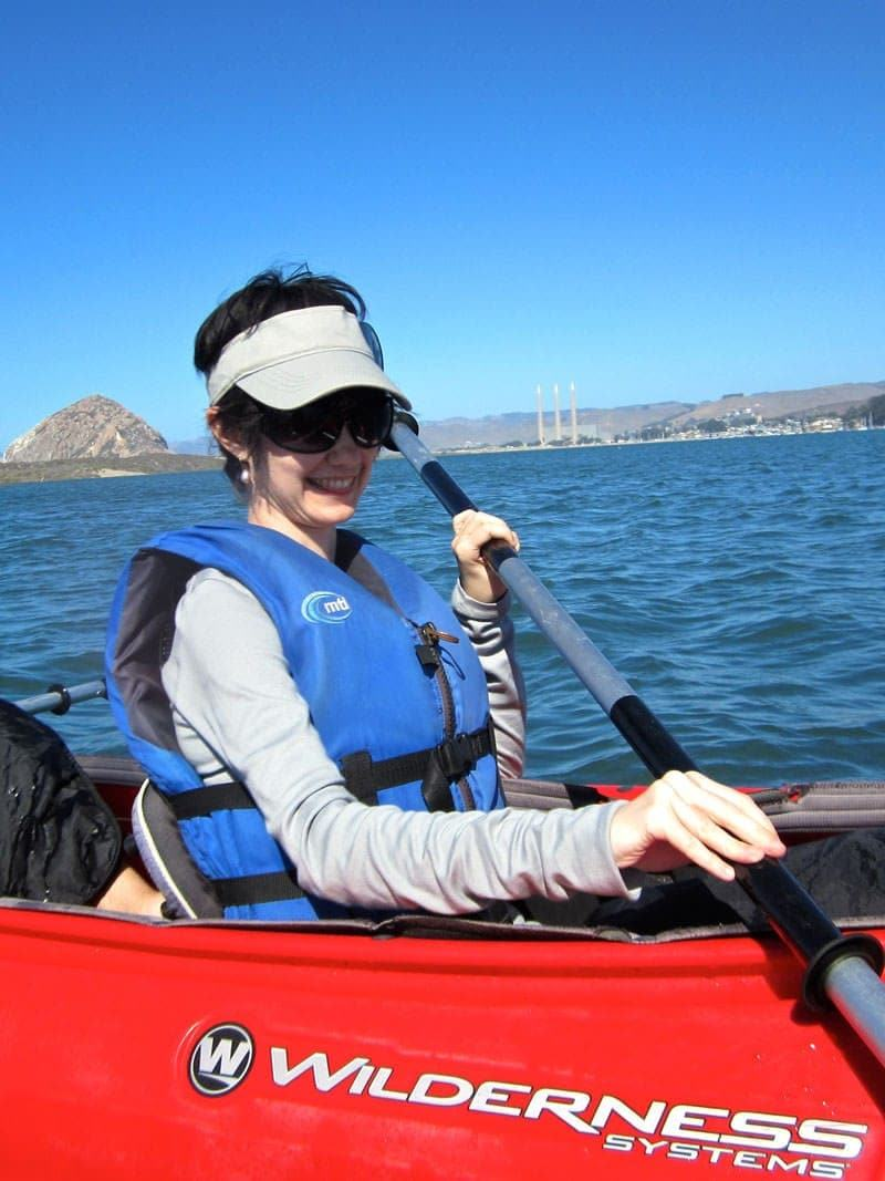 Central Coast Outdoor kayaking in Morro Bay