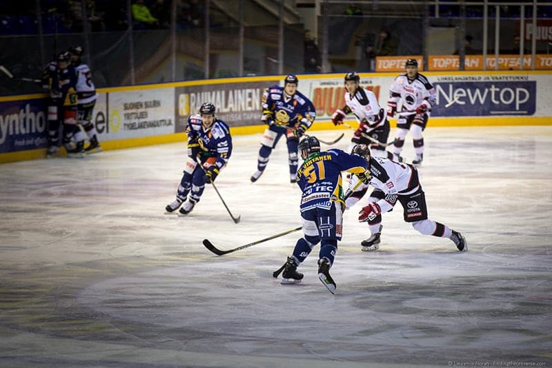 rauma hockey visiting finland in winter