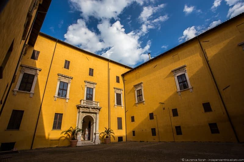 Ducal palace Pesaro Italy Le Marche