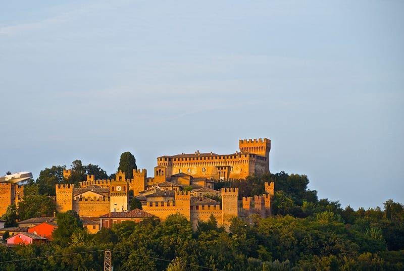 Gradara Castle Le Marche Italy
