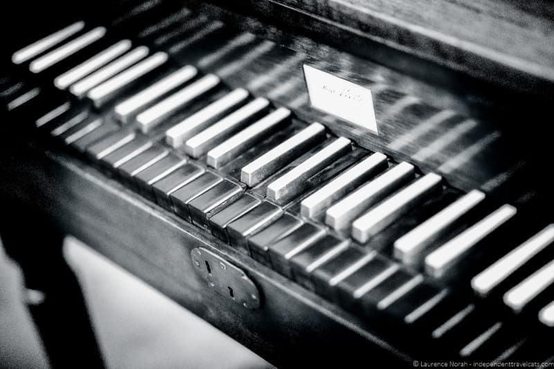 Rossini piano Pesaro Italy