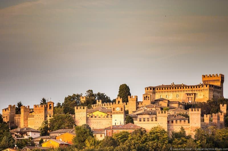 Castello di Gradara Le Marche Italy
