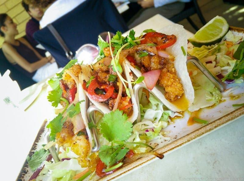 Avital Food Tours San Francisco North Beach Tacolicious cod tacos