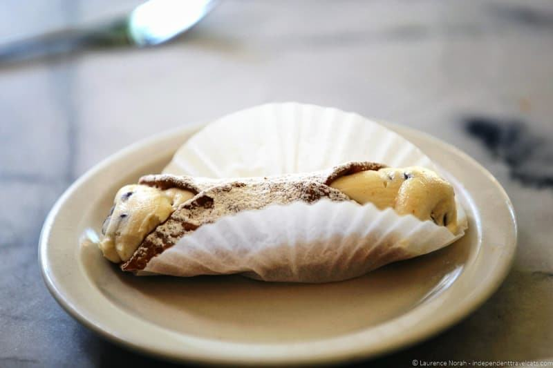 Avital Food Tours cannoli Stella Pastry & Cafe