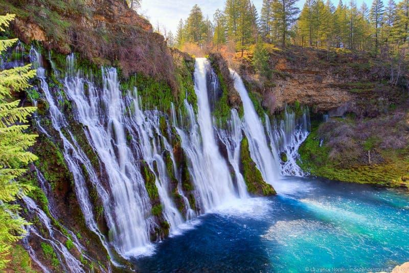 Burney Falls weekend in Redding California Shasta Cascade