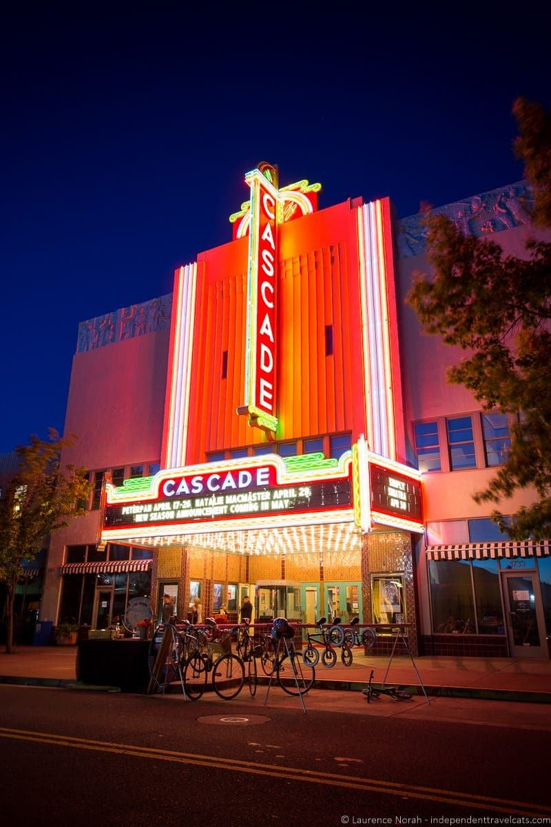 Cascade Theater weekend in Redding California Shasta Cascade