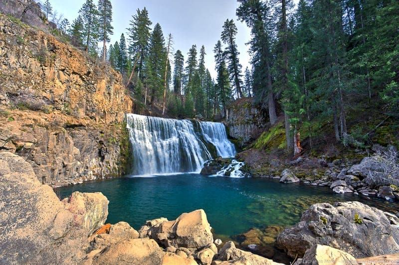 McCloud Falls waterfalls weekend in Redding California Shasta Cascade