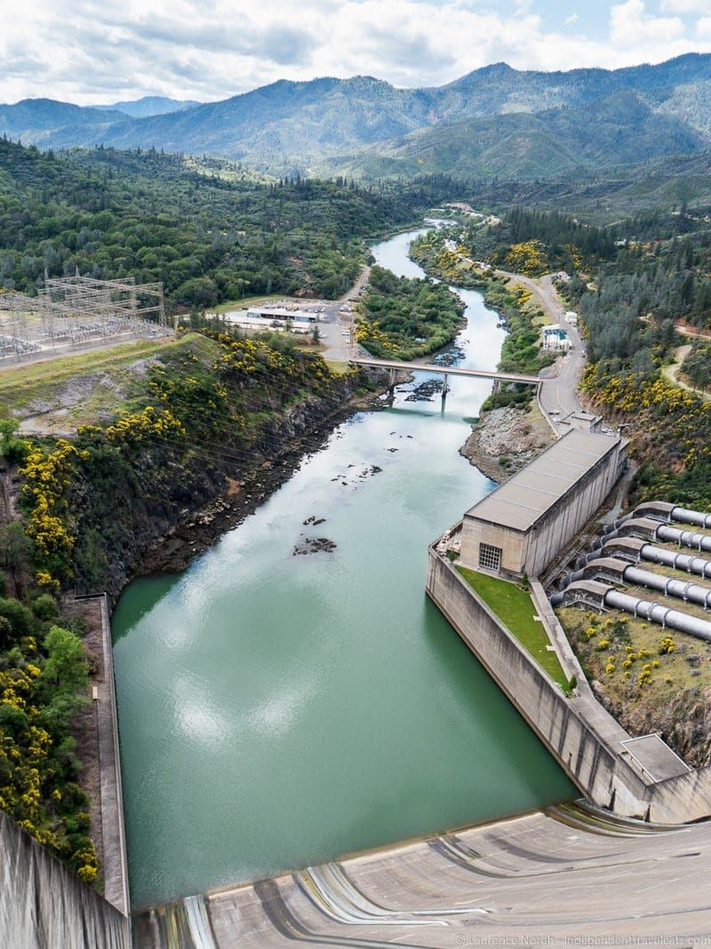 Shasta Dam weekend in Redding California Shasta Cascade