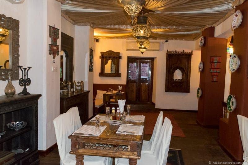 Mistress of Spice Lounge at Jafferji House Zanzibar