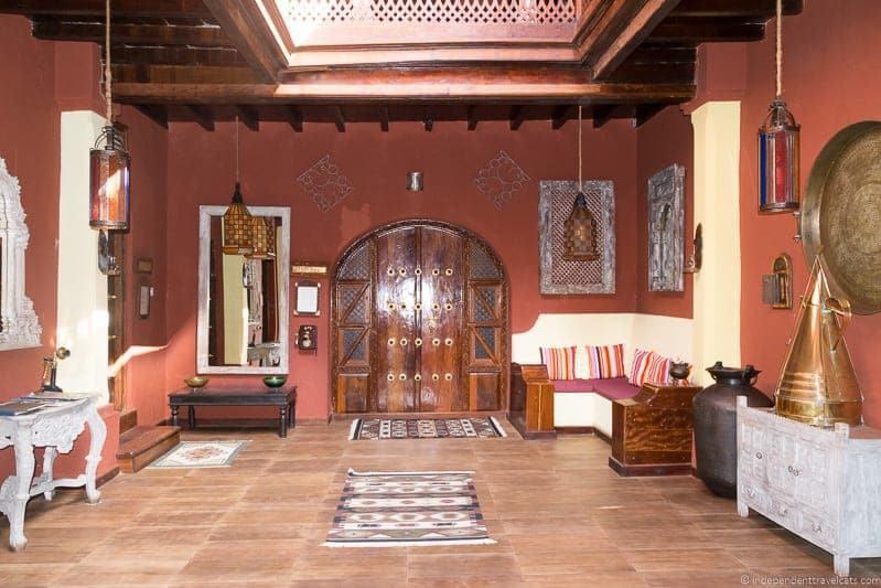 Jafferji House and Spa hotel Stone Town Zanzibar