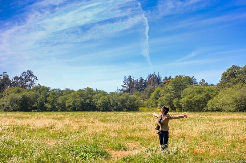 Fiscalini Ranch Preserve hiking Cambria California