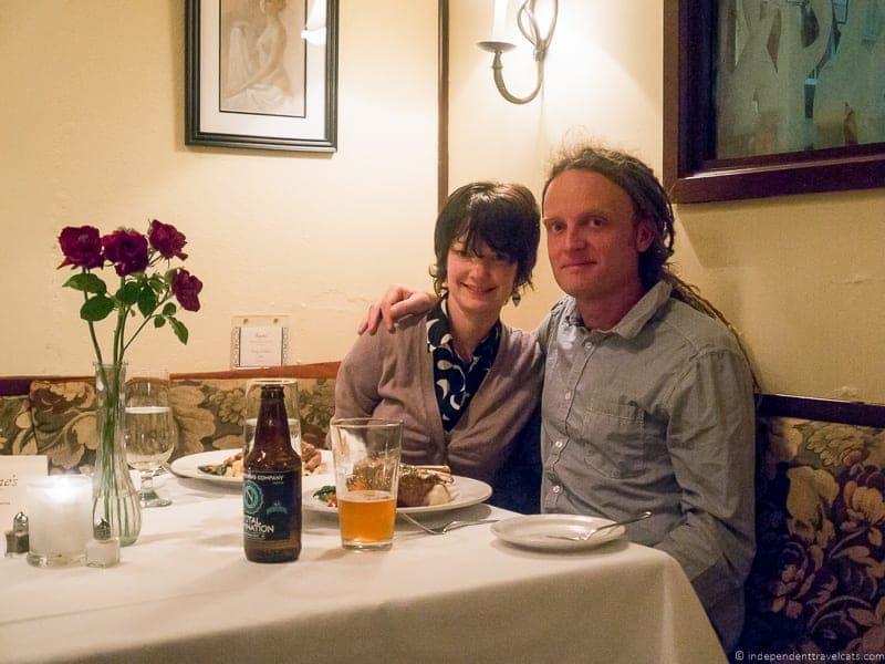 Madeline's Restaurant Cambria California