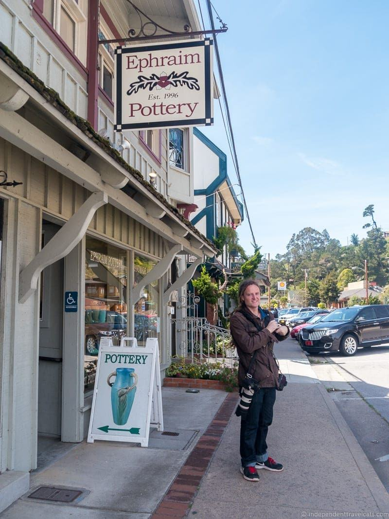 Laurence on main street Cambria