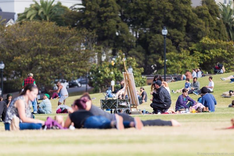Mission Dolores Park San Francisco Native Tours