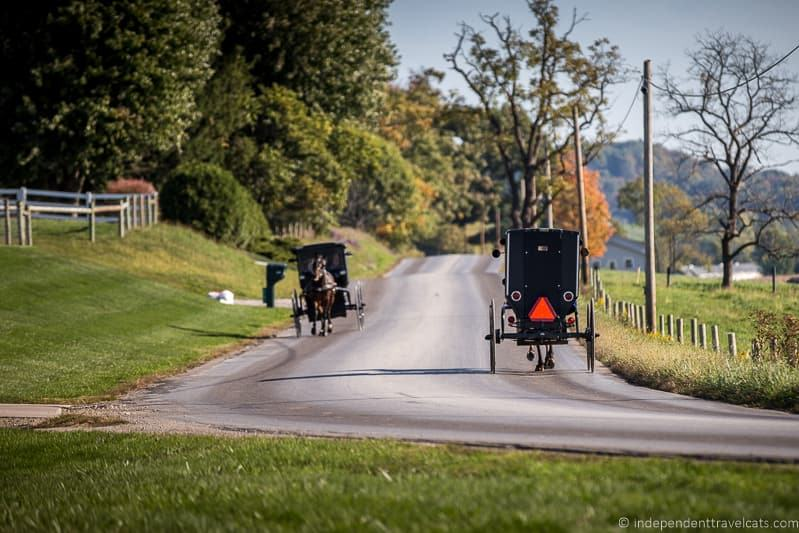 Amish horse and buggy Amish Country Scenic Byway Ohio things to do in Amish Country Ohio visiting Holmes County Ohio