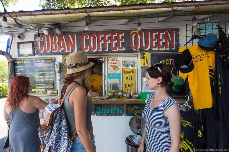 Cuban Coffee Queen Hemingway in Key West Florida