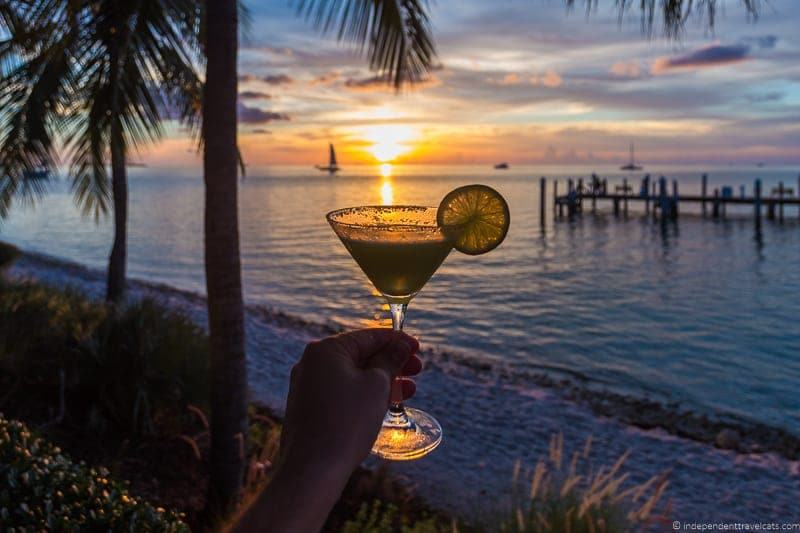 Latitudes martini Hemingway in Key West Florida