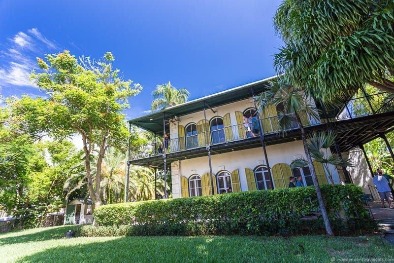 Heminway House Hemingway in Key West Florida