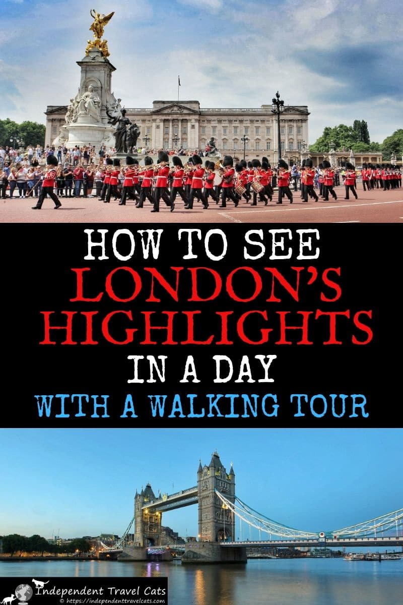 A London walking tour is a great way to see as many highlights as you can in London in one day. These walking tours take you through the heart of the capital city with a knowledgeable local guide and give you a chance to see London's most famous sites, including the Tower of London, Tower Bridge, Buckingham Palace, Trafalgar Square, Westminster Abbey, and the Houses of Parliament. We'll help you choose the best London walking tour for you. #London #Londontravel #travel #walkingtour #Londontour