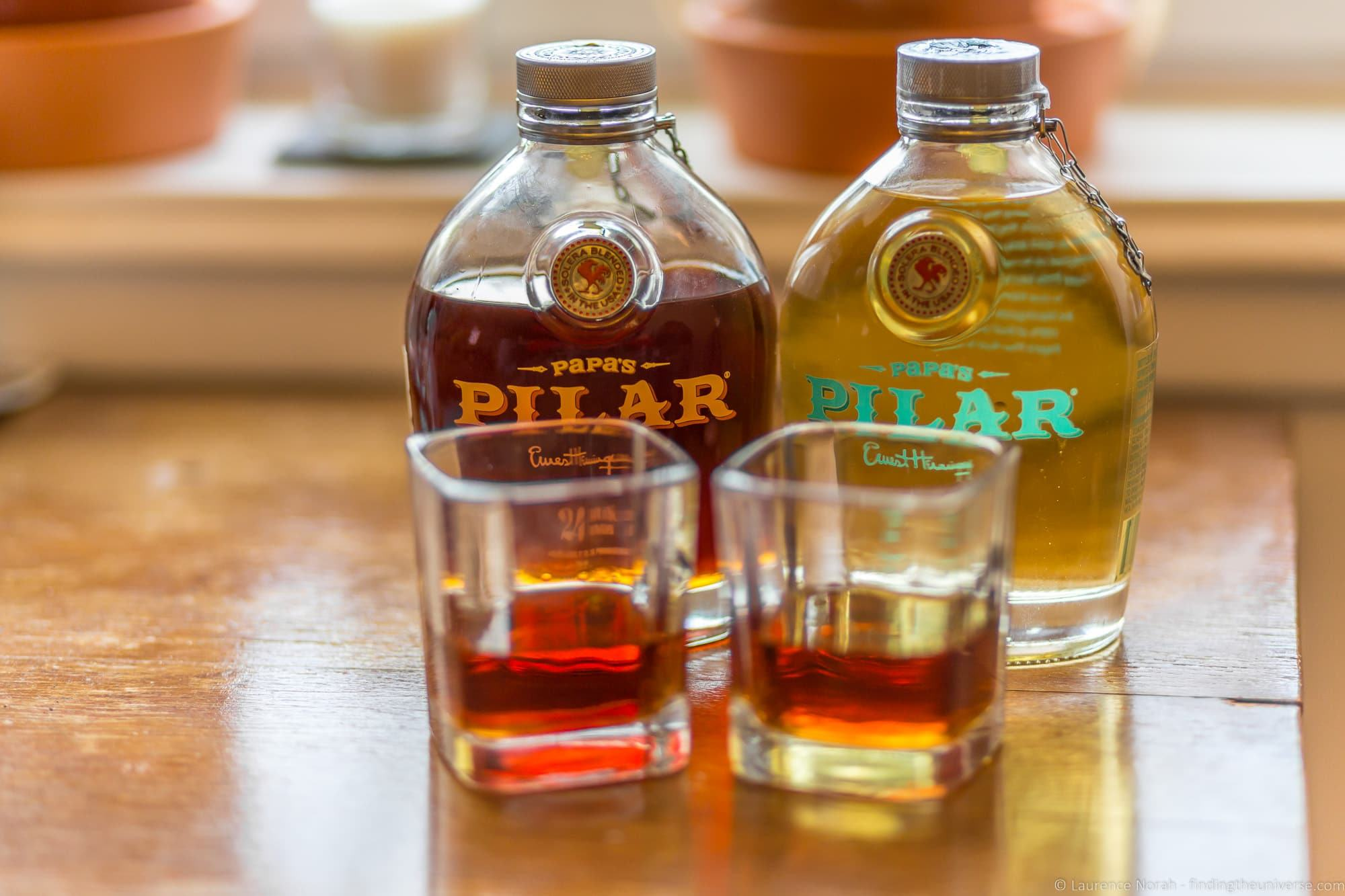 Papa's Pilar rum Ernest Hemingway in Key West Florida sites attractions