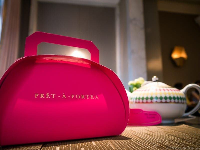 Prêt-à-Portea Tea at The Berkeley London