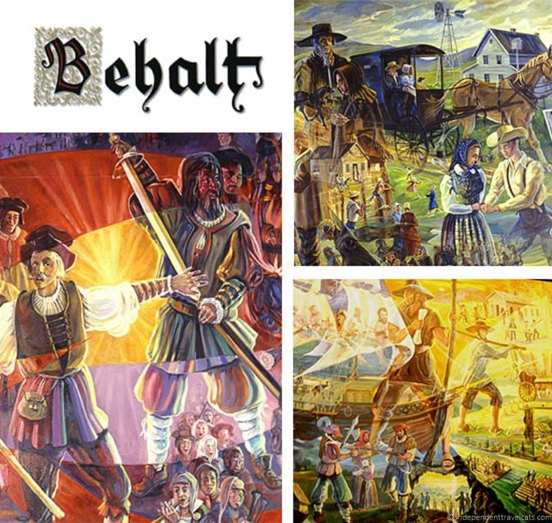 behalt cyclorama mural visit amish country ohio