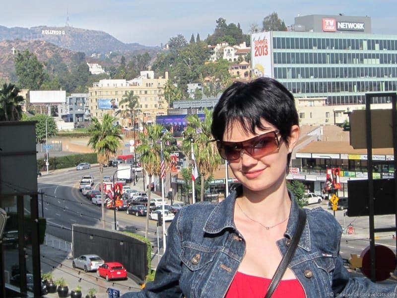 Hollywood California Pacific Coast Highway 1 road trip