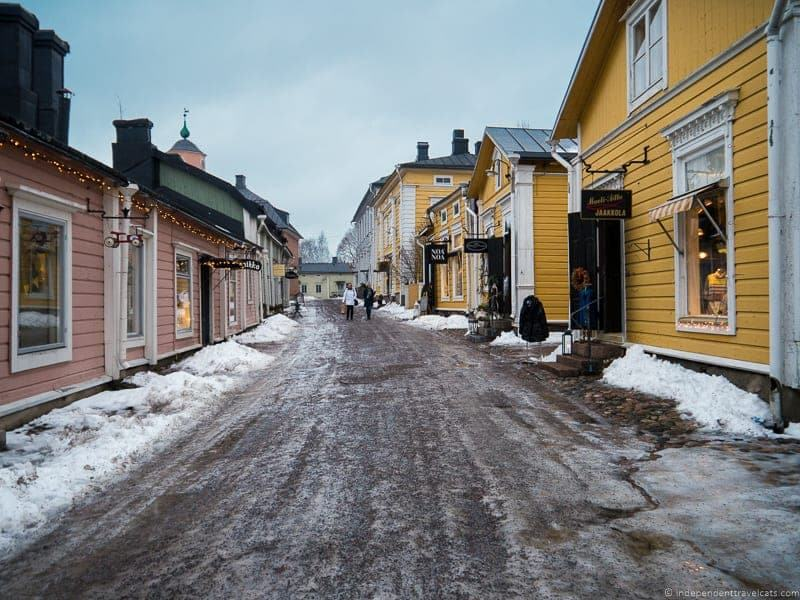 day trip to Porvoo Finland from Helsink