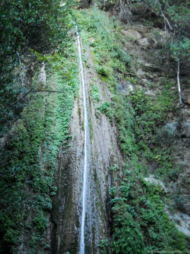 Nojoqui Falls Solvang California Pacific Coast Highway 1 road trip