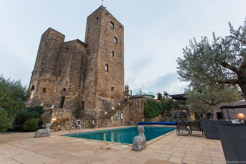 Hotel Castell d'Emporda Salvador Dalí in Costa Brava Spain