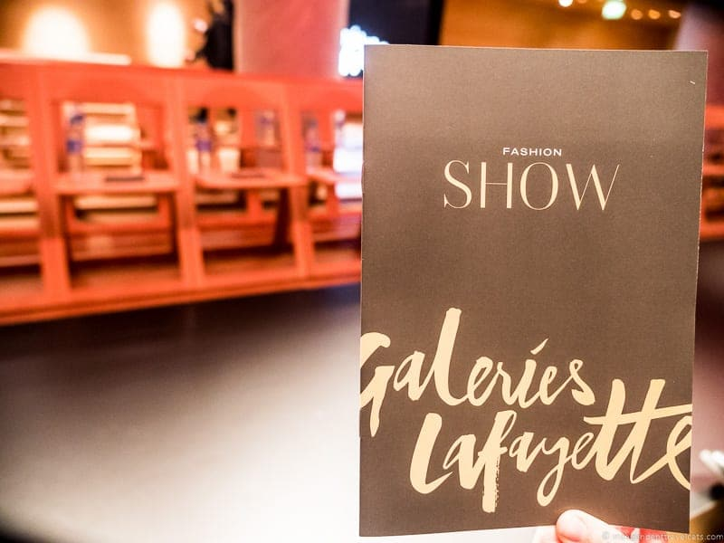 Galeries Lafayette Free Fashion Show