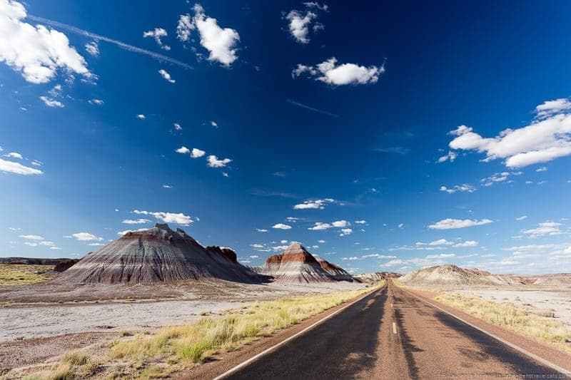 Painted Desert Arizona Route 66 road trip