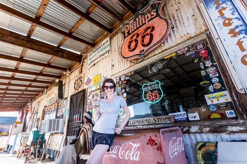 Hackberry General Store Arizona Route 66 road trip
