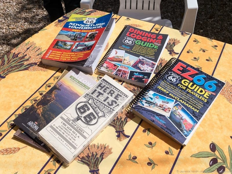 Route 66 road trip planning guides and maps