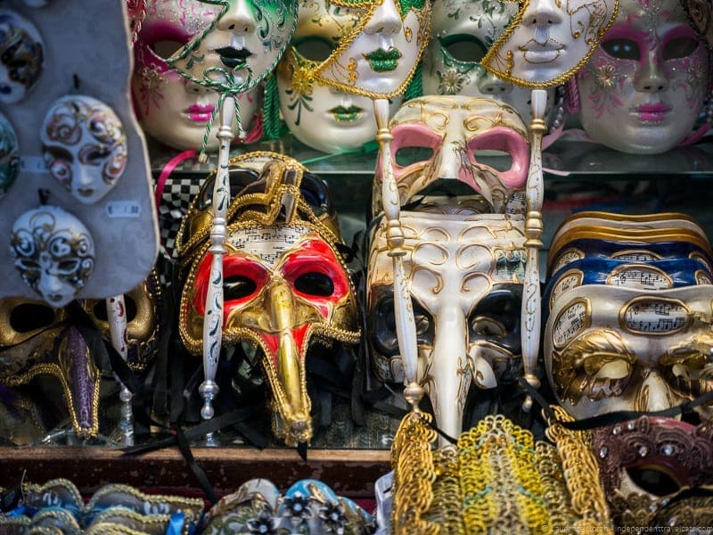 Venetian masks Context Travel Casanova Venice tour