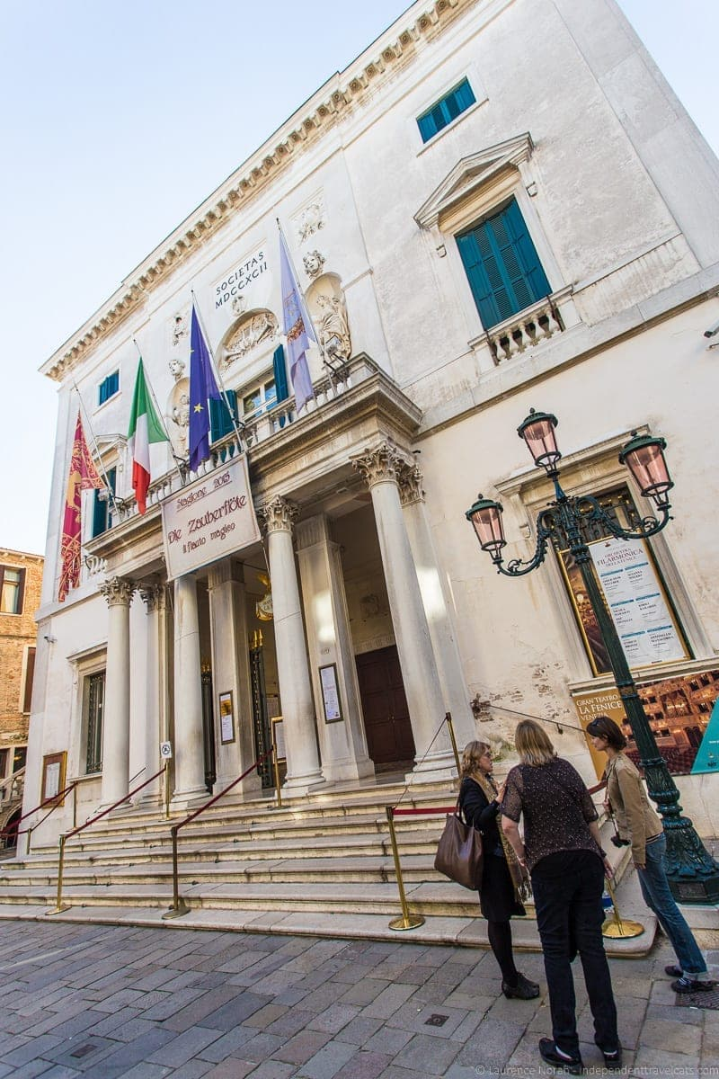 Teatro La Fenice theater Context Travel Casanova Venice