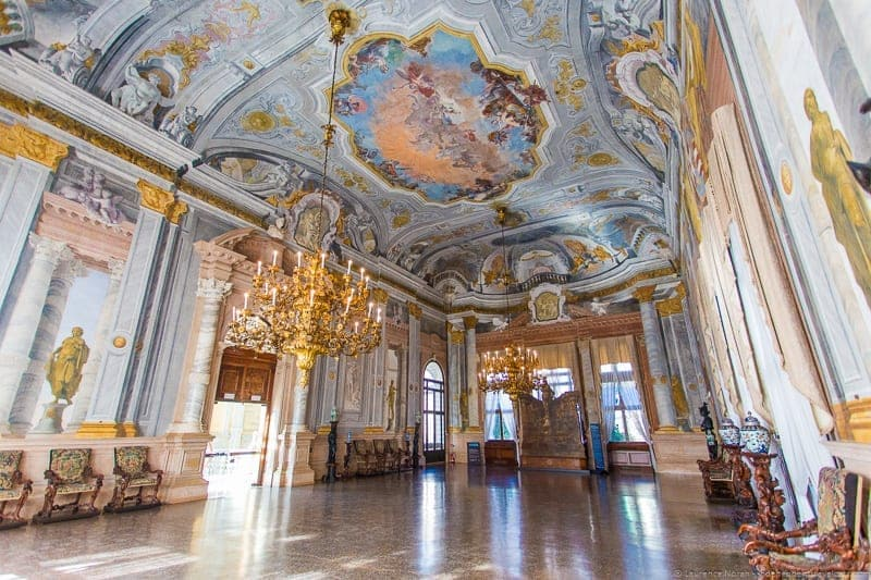 Ca' Rezzonico Venice Context Travel Casanova Venice tour