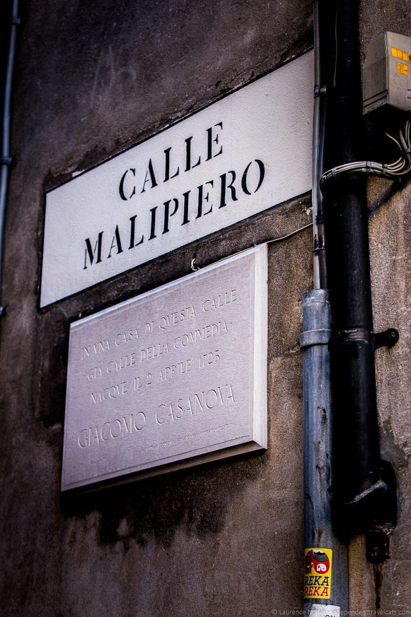 Calle Malipiero Context Travel Casanova Venice