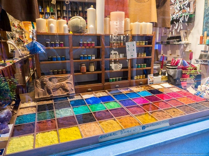 artist pigment shop Context Travel Casanova Venice