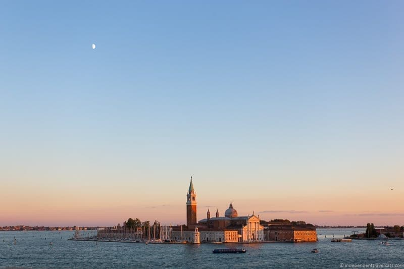 San Giorgio Maggiore Doge's Palace Venice st. mark's basilica without the crowds