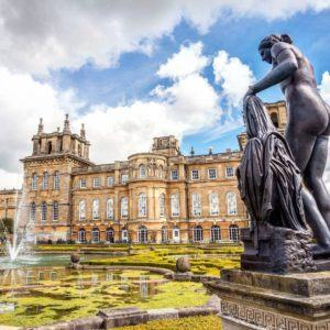 The monumental Blenheim Palace This large country home is thehellip